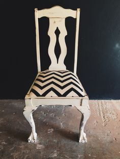 Ball and Claw Chair with a contemporary twist! The perfect dressing table chair.  R800.  Contact us for orders and enquiries: erin@freerangeboy.co.za // dave@freerangeboy.co.za  #design #furniture #homedecor #interiordesign #interiordecor #freerangeboy #interior #upcycled #upcycling #homeware #accessories #southafrica #vintage #antique Dressing Table With Chair, Interior Decorating, Interior Design, Dining Chairs, Contemporary, Antiques, Accessories, Furniture, Vintage