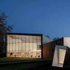 Subterranean+tunnel+links+Seinäjoki+library+by++JKMM+Architects+with+Aalto's+1965+building