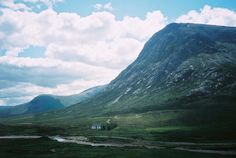 Cottage in the Scottish Highlands.Contributed by Martha Schlee Bamford.  If this were mine, I don't think I could want for anything else in the world!