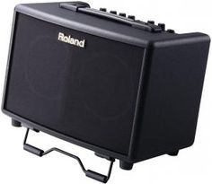 Roland AC-33.  The 30-Watt AC-33 is a highly rated stereo 2-channel acoustic guitar amp that comes with the added bonus of being able to be run on battery power making it ideal for street performers.