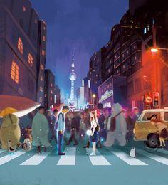 ⚠️⚠️⚠️Printerest : Hạnh Lee ♡Cá voi💖 Couple Illustration, Photo Illustration, Anime Galaxy, Couple Art, Photo Book, Art Inspo, Home Art, Anime Couples, Illustrators