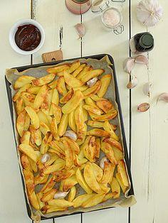 Frytki z piekarnika fit - ale nie mniej smaczne niż smażone na oleju :)  - etap 7