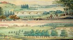 DOUBLE Fore Edge Painting - Highly Sort After.