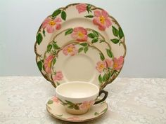 Things My Big Momma collected/ Desert Rose...Franciscanware