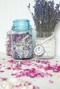 Rose Petal and Lavender Harvest