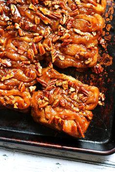 Pecan Sticky Buns, Pecan Rolls, Best Cinnamon Rolls, Cinnamon Bread, Muffins, Caramel Pecan, Rolls Recipe, Sweet Bread, Pain