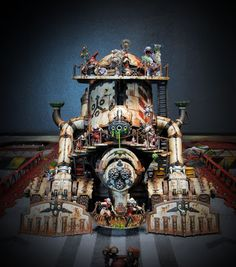 Some crazy French bloggers one of whom may now work for GW have been working on a massive Nurgle army for years just like me. They've put a little more effort into it recently than I have, that is for sure, witness their latest monstrosity.