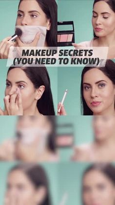 Original makeup tricks to apply to your everyday makeup routine! Original makeup tricks to apply to your everyday makeup routine! Everyday Makeup Tutorials, Everyday Makeup Routine, Makeup Tips For Beginners, Natural Everyday Makeup, Make Up Tutorials, Beauty Tutorials, Makeup Tricks, Makeup Hacks Videos, Makeup Tips Video