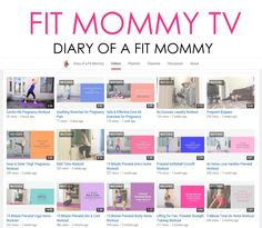 Tons of free prenatal workouts to keep you fit throughout your entire pregnancy!