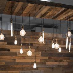 @huntcollectiveltd  #reclaimedwood #vintage #custom #lighting #forsale Custom Lighting, Lighting Design, Vintage Industrial Lighting, Track Lighting, Retro Vintage, Indoor, Ceiling Lights, Pendant, Home Decor