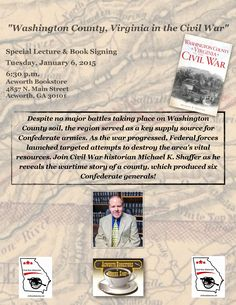 I will lecture and sign copies of my book, Tuesday, January 6, 6:30 p.m. at the Acworth Bookstore.