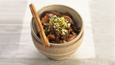 Slow Cooked Moroccan Lamb Stew via @iquitsugar
