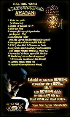 Hal hal yang menggugurkan amalan Doa Islam, Islam Muslim, Islamic Inspirational Quotes, Islamic Quotes, Just Pray, Learn Islam, Islamic Teachings, Islamic Messages, Islam Facts
