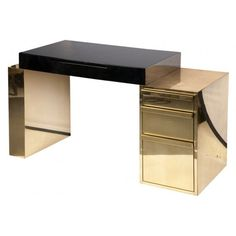 Alright, this is the ultimate. For my future apartment please! (Desk By Karl Springer)