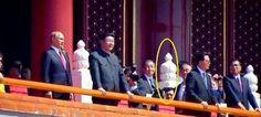 9月3日,北京举办阅兵式,中共现任及前任常委悉数出席。有日媒拍到,中共前党魁江泽民在阅兵式楼上,有一会儿不见了。 - 大陆政治