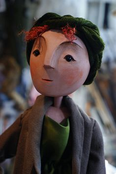 Woman Villager by Little Angel Theatre, via Flickr