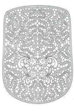Foto: Bobbin Lace Patterns, Doll Patterns, Knitting Patterns, Sewing Patterns, Fabric Stiffener, Lace Bag, Lacemaking, Point Lace, True Art