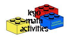 Boy Mama Teacher Mama | Lego Math Activities Lego Math, Math Classroom, Fun Math, Future Classroom, Lego Activities, Kindergarten Math Activities, Teaching Math, Montessori Math, Homeschool Math