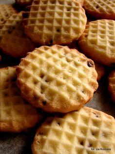 Ciasteczka robione tłuczkiem do mięsa | Smaczna Pyza Lany, Food To Make, Waffles, Goodies, Food And Drink, Yummy Food, Sweets, Baking, Breakfast