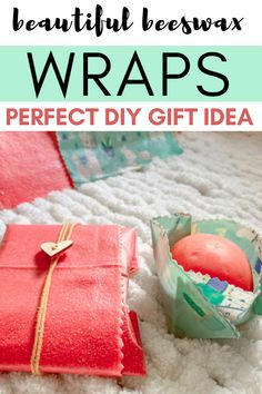 Ditch the plastic and make organic beeswax food wraps. Perfect to store veggies, fruits, cheeses. Easy to follow food wrap tutorial. Perfect beeswax wrap gift for a sustainable person. Reusable Food Wrap, Beeswax Food Wrap, Do It Yourself Crafts, Diy Home Decor Projects, Wrap Recipes, Eclectic Decor, Diy Wall Decor, Creative Crafts, Organic Recipes