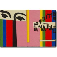 YGC Henri Matisse 'Design for Cover of Exhibition Catalogue' Gallery-wrapped Canvas Art