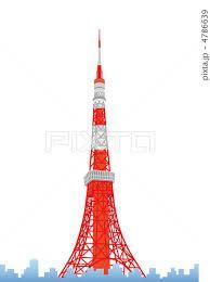 「東京タワー イラスト」の画像検索結果