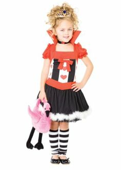 Amazon.com : Leg Avenue Girls Queen of Hearts : Childrens Costumes : Toys & Games