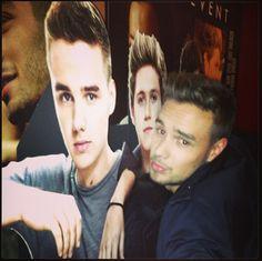 Liam you're so cute. lol. :)