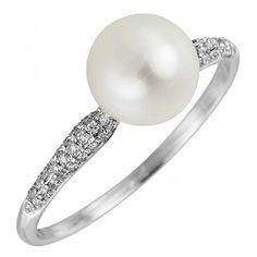 verlobungsring mit perle