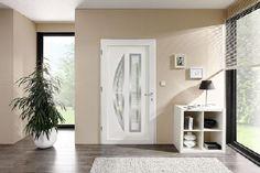 Haustüren mit Kristallelementen bereiten einen strahlenden Empfang