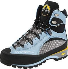 La Sportiva Trango S EVO GTX Boot - Women& *** Special boots just for you. Mens Snow Boots, Cowboy Boots Women, Winter Boots, Best Hiking Shoes, Hiking Boots, La Sportiva Boots, Fashion Boots, Sneakers Fashion, Mountaineering Boots