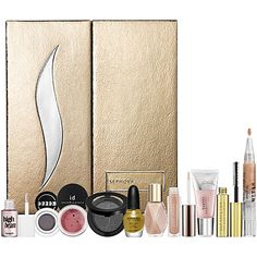 Glitz & Glam  ~This dazzling makeup collection contains 10 products, including three full sizes, all of which will leave you positively luminous.