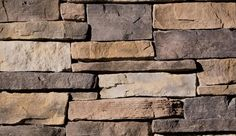 Eldorado Stone - Weather Edge all of the colors i want in my fireplace in a stacked stone