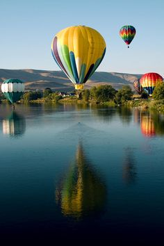 ✮ Hot Air Balloon Rally - Prosser, Washington