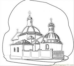 28 Best Byzantine Icon Coloring Pages images in 2019