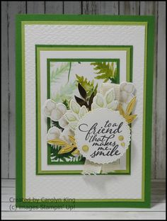 Feather Cards, Green Mat, One Sheet Wonder, Dandelion Wish, Specialty Paper, Some Cards, Embossing Folder, Stampin Up Cards, Greenery
