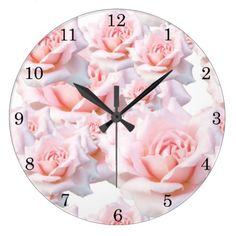 Girls Bedroom Wall Clocks has a great collection of pink wall clocks for a little girls bedroom. You'll find florals, patterns and beloved characters.