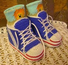 Free Crochet Patterns: Free Crochet Shoes, Booties, Sandals, Sneakers, and Slippers Patterns for Babies II