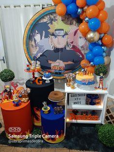 Birthday Table, Dinosaur Birthday Party, 20th Birthday, Bolo Do Naruto, Naruto Party Ideas, Naruto Birthday, Anime Cake, Naruto Uzumaki Shippuden, Party Planning