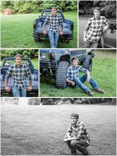 Posing with truck. Posing with truck. Hunting Senior Pictures, Baseball Senior Pictures, Male Senior Pictures, Boy Pictures, Senior Photos, Grad Pictures, Family Pictures, Senior Boy Poses, Senior Boys