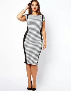 But Better With A V Neck Shape Curvy Fashion Plus