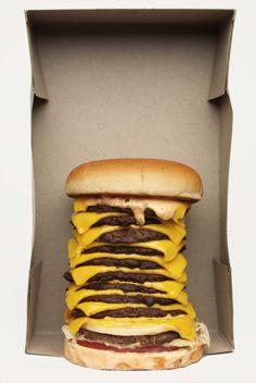 Бургер в коробке