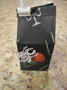 Mini Milk Carton Mini Milk, Milk Box, Fall Cards, Favorite Holiday, Stampin Up, Thanksgiving, Paper Crafts, Personalized Items, Halloween