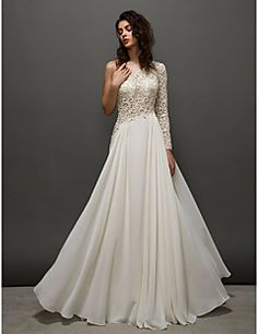 homecoming ts alta costura prom / vestido de noche formal - una línea de un hombro palabra de longitud de encaje marfil
