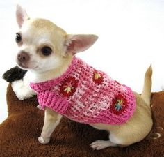 Handmade Christmas Gifts dog jumper #crochet #crafts #dogoftheday #Cutepicture #pets
