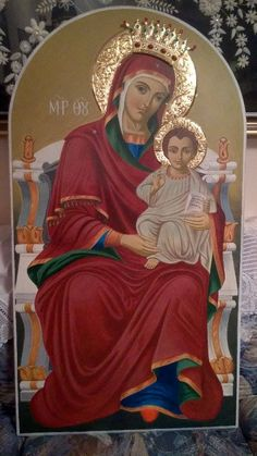 Blessed Virgin Mary, Our Lady, Prayers, Blog, Painting, Images, Greece, Art, Virgin Mary