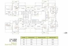 Ganga Elika by Goel Ganga Developments Floor Plan Details