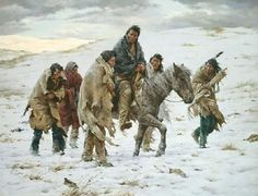 Chief Joseph Rides to Surrender, Howard Terpning Museum Edition