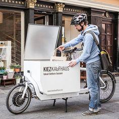 Commerces de proximité et livraison vélo, weisbaden
