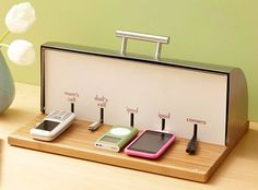 Make your own Breadbox Charging Station at home